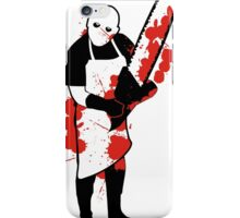 Chainsaw Butcher iPhone Case/Skin