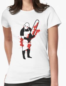 Chainsaw Butcher Womens Fitted T-Shirt
