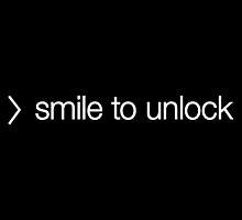 SMILE TO UNLOCK OS8 by w1ckerman