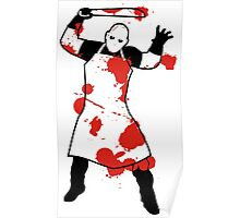 Knife Butcher Poster