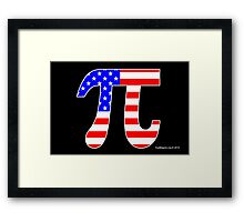American Pi Framed Print