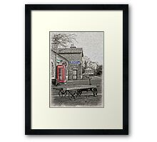 Hadlow Road Popped and Painted Framed Print