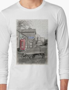 Hadlow Road Popped and Painted Long Sleeve T-Shirt