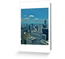 Skyline 1.0 - New York Greeting Card
