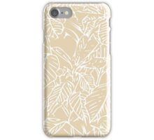 The Plant (gold) iPhone Case/Skin