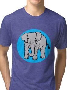 Elephant-2 Tri-blend T-Shirt