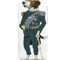 Dog In Uniform  iPhone Case/Skin