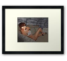 Hot, Smart, and Sexy Framed Print