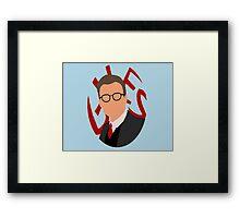 Giles Silhouette Framed Print