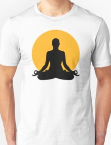 Meditation moon T-Shirt