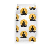 Meditation moon Duvet Cover