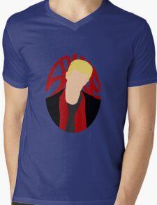 Spike Silhouette Mens V-Neck T-Shirt
