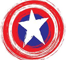 Captain America Shield by Skitters