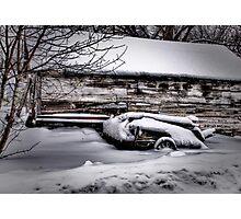 """Broken Wagon"" Photographic Print"
