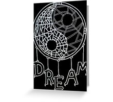 Dark dreams Greeting Card