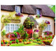 Dorset Cottage - Orton Poster