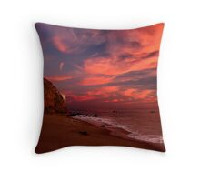 Point Dume with Flare Throw Pillow