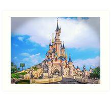 Castle of Dreams, Sleep On.... Art Print