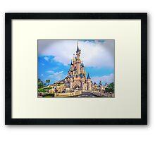 Castle of Dreams, Sleep On.... Framed Print