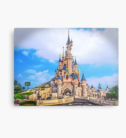 Castle of Dreams, Sleep On.... Metal Print