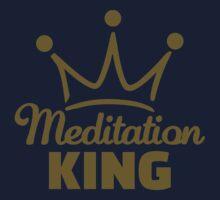 Meditation King Kids Tee