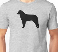 Kuvasz Dog Silhouette Unisex T-Shirt