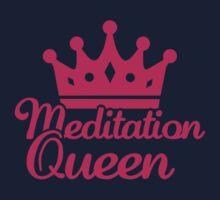 Meditation queen Kids Tee