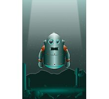 The Lonely Space Robot Photographic Print