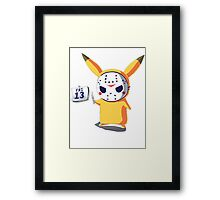 Pika the 13th Framed Print
