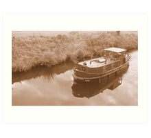 Irish boat Art Print