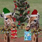 Christmas Giraffes by Jenny Brice