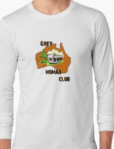 Grey Nomad Club Long Sleeve T-Shirt
