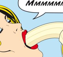 Banana Love (makes you feel good inside)  Sticker