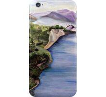 The Jordan River (Artist Interpretation for Baptismal Mural) iPhone Case/Skin