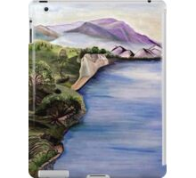 The Jordan River (Artist Interpretation for Baptismal Mural) iPad Case/Skin