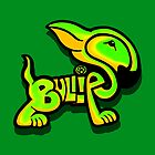 Bullies Letter Character Green and Yellow by Sookiesooker