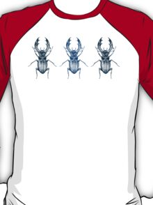 Stag Beetle | Blue T-Shirt