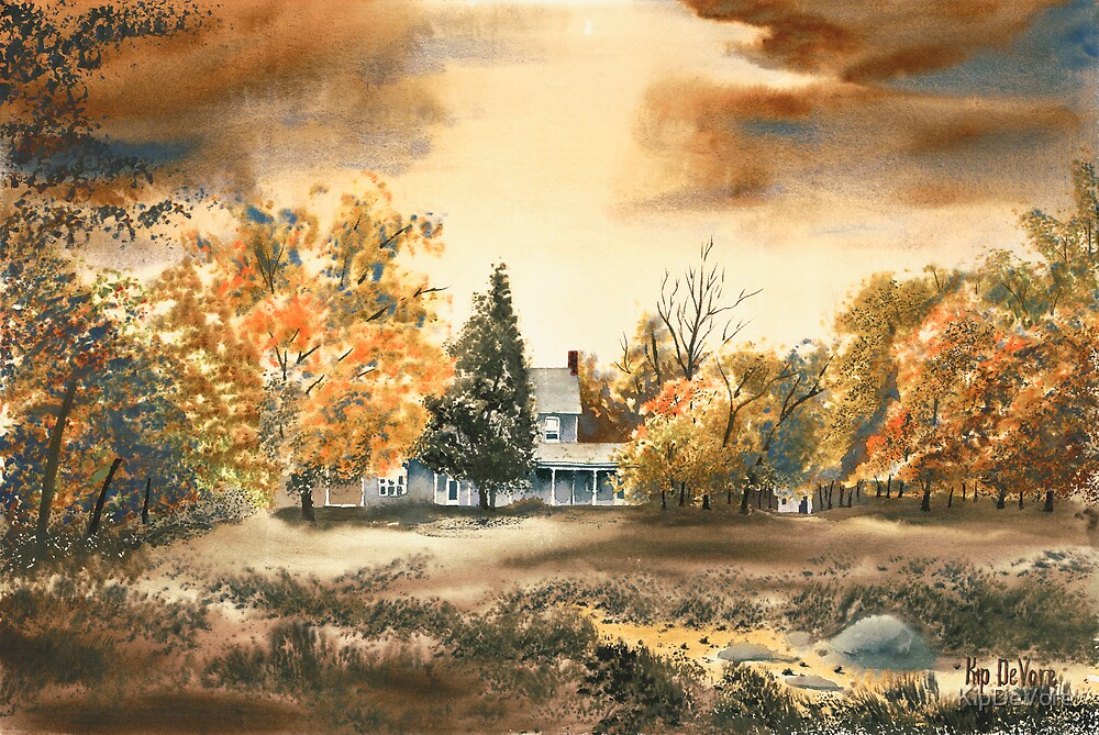 Dorothy Reese Home - After Rain by KipDeVore