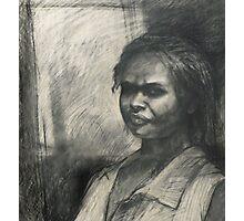 Kuntamare : charcoal portrait drawing Photographic Print