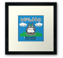8-Bitoro Framed Print