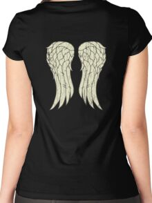 Daryl's Wings Women's Fitted Scoop T-Shirt
