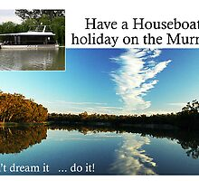 Murray River houseboating by Des Berwick