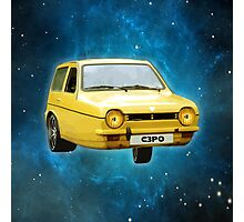 C3PO RELIANT ROBIN Photographic Print