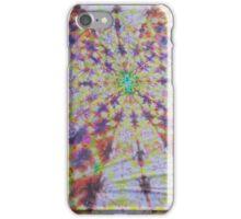 Vivid kaleidoscopic mandala iPhone Case/Skin