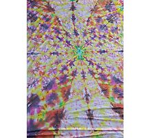 Vivid kaleidoscopic mandala Photographic Print