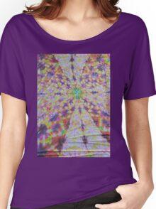 Vivid kaleidoscopic mandala Women's Relaxed Fit T-Shirt