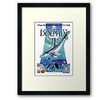Dolphin Ecco Framed Print