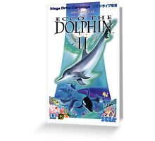 Dolphin Ecco Greeting Card