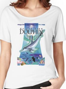 Dolphin Ecco Women's Relaxed Fit T-Shirt