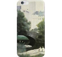 Summer Days(Central Park-New York City) iPhone Case/Skin